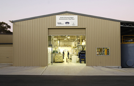 External of the Dubbo Demonstration Plant